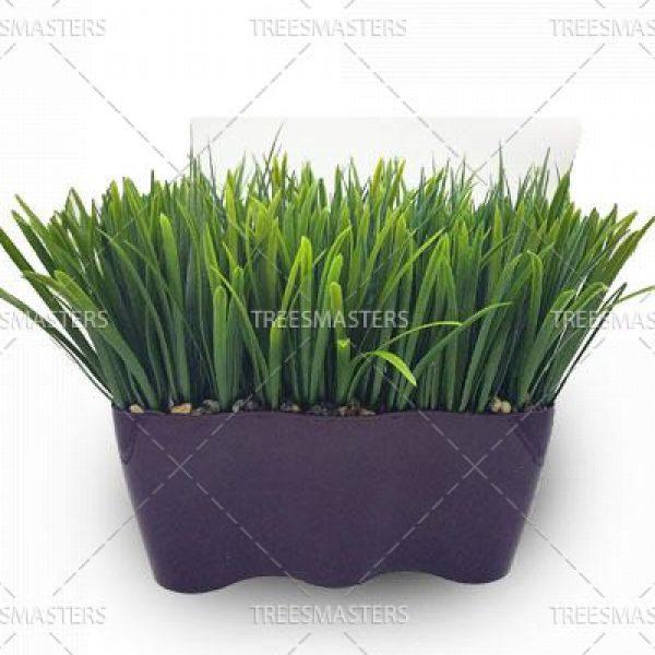 Искусственная трава в подоконных кашпо