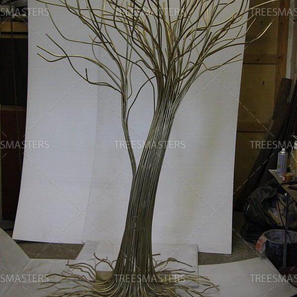 Дерево из металла ручной работы