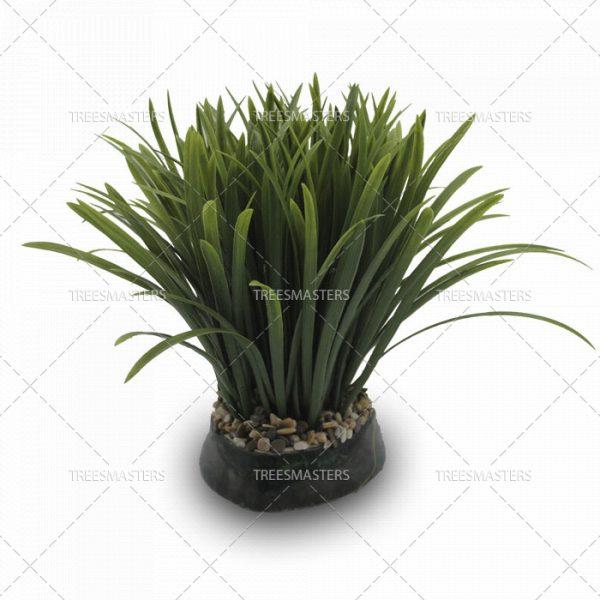 Искусственная композиция: Трава в керамике