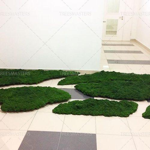Искусственный мох производства TreesMasters