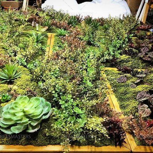 Искусственный мох в композициях