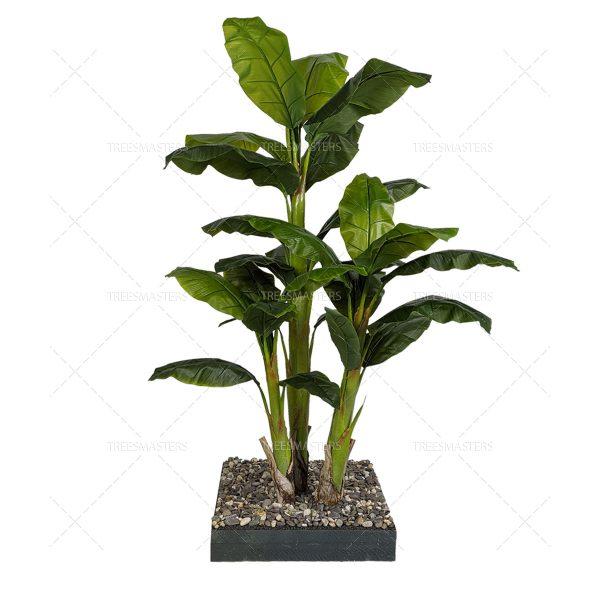 Искусственная композиция: Банановая Пальма, кусты пальмы