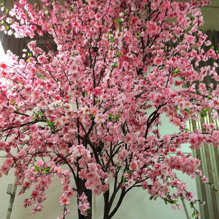 Искусственная сакура розовая