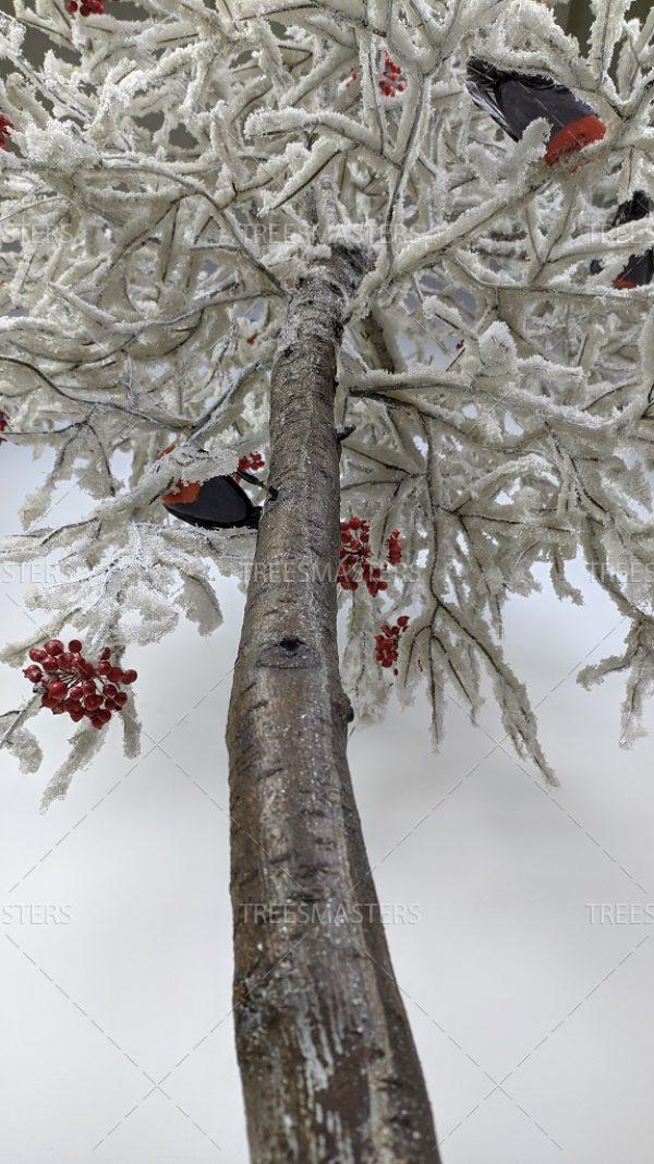 Искусственное дерево: Рябина, заснеженная