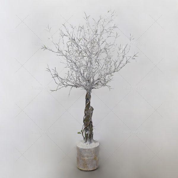 Искусственное дерево: Ива, заснеженная