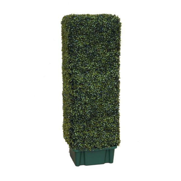 Искусственный самшит «вытянутый куб», 50-250 см