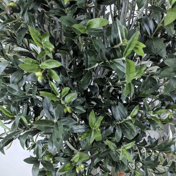 Листья искусственной оливы