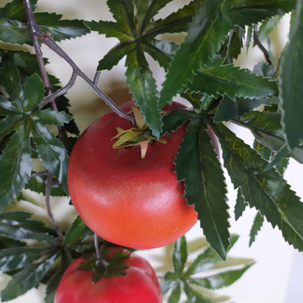 Искусственная томатная ветка с крупными помидорами