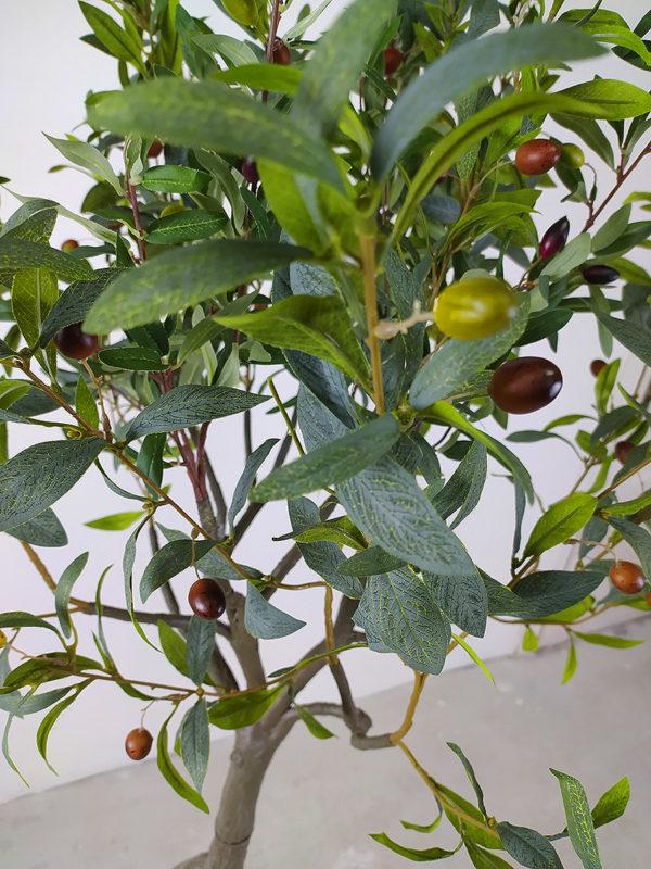Искусственная олива со светлыми плодами