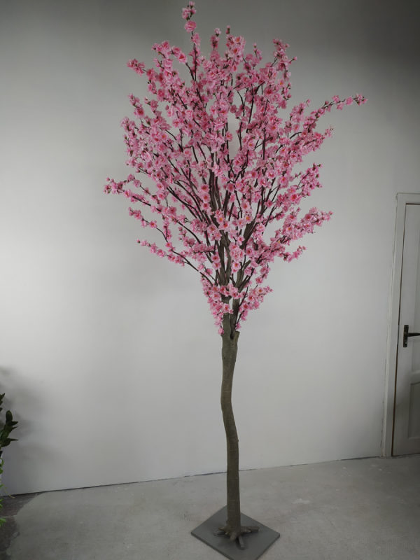 Искусственная Сакура розовая, 280см