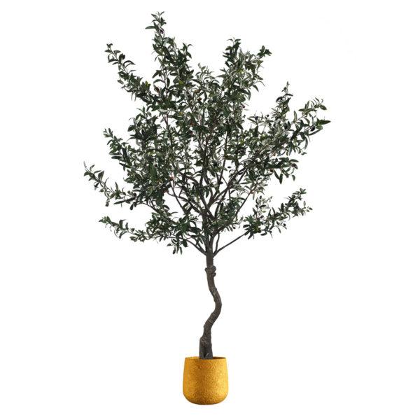 Искусственное оливковое дерево, 210см